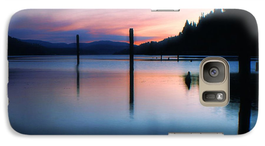 Dusk Galaxy S7 Case featuring the photograph Twilight by Idaho Scenic Images Linda Lantzy