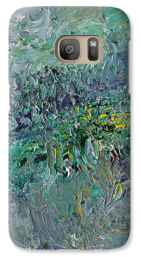 Fusionart Galaxy S7 Case featuring the painting Blind Giverny by Ralph White