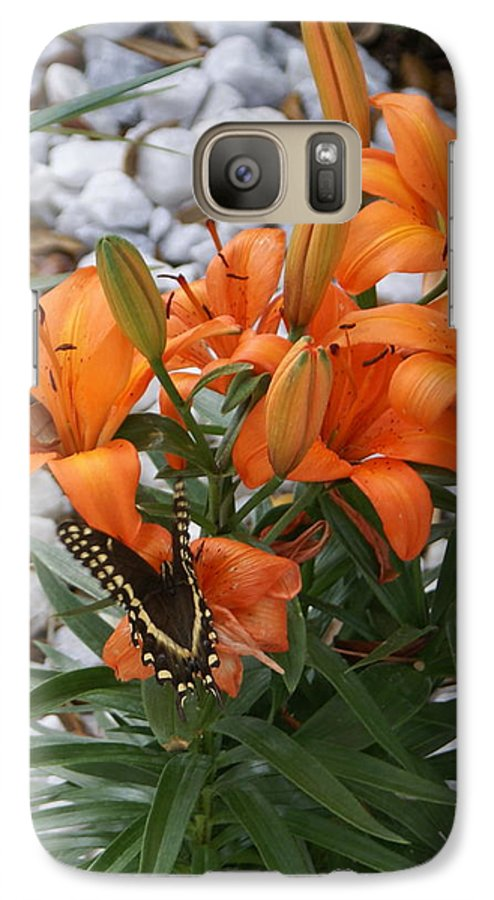 Flower Galaxy S7 Case featuring the photograph Untitled by Debbie May