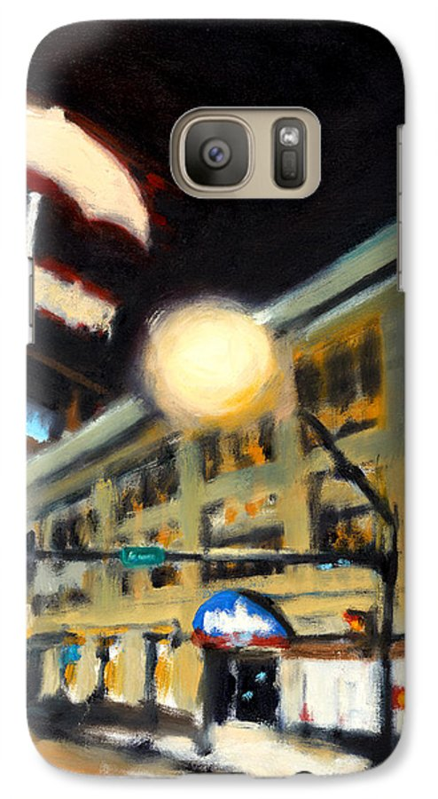 Rob Reeves Galaxy S7 Case featuring the painting Untitled by Robert Reeves