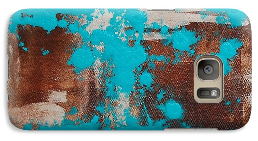 Diptech Galaxy S7 Case featuring the painting Urbanesque I by Lauren Luna
