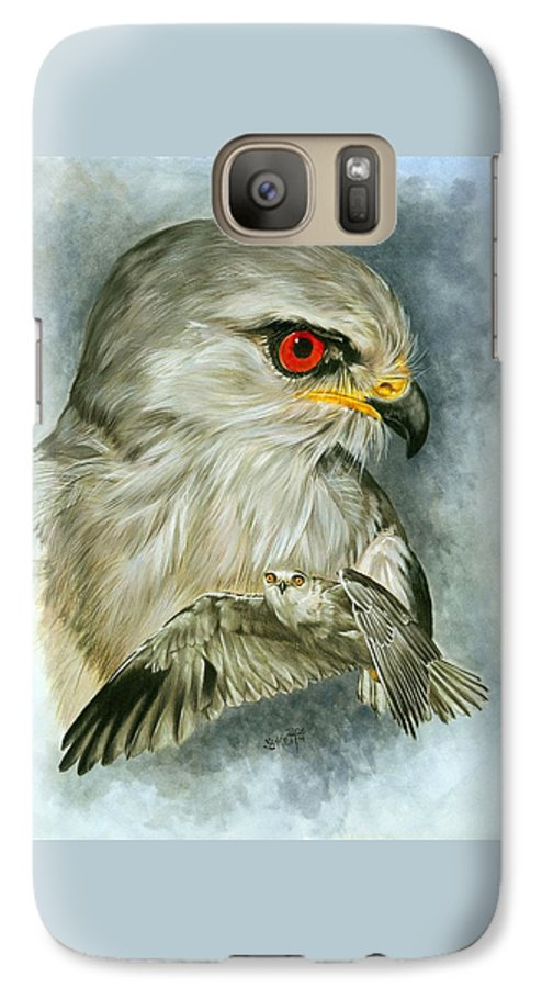 Kite Galaxy S7 Case featuring the mixed media Velocity by Barbara Keith