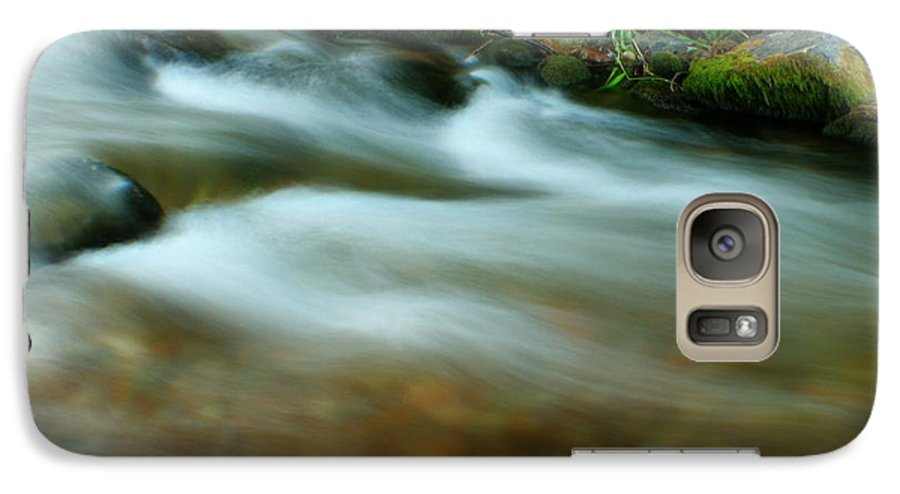River Galaxy S7 Case featuring the photograph Velvet River by Idaho Scenic Images Linda Lantzy