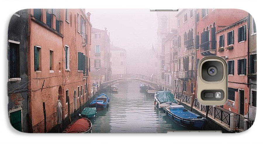 Venice Galaxy S7 Case featuring the photograph Venice Canal I by Kathy Schumann