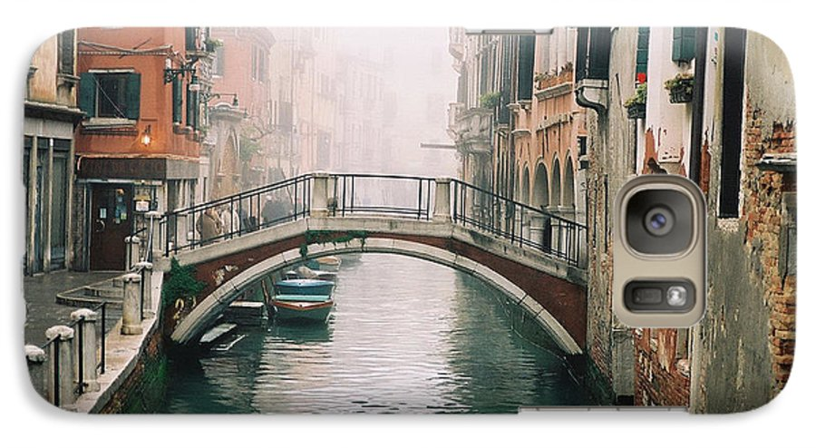 Venice Galaxy S7 Case featuring the photograph Venice Canal II by Kathy Schumann