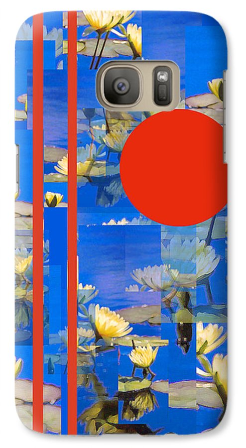 Flowers Galaxy S7 Case featuring the photograph Vertical Horizon by Steve Karol