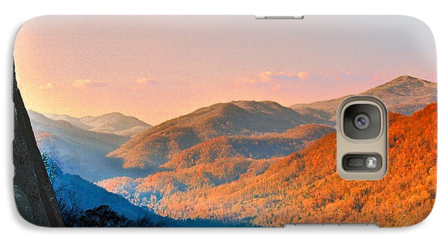 Landscape Galaxy S7 Case featuring the photograph View From Chimney Rock-north Carolina by Steve Karol