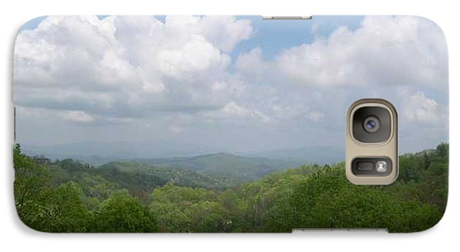 Mountains Galaxy S7 Case featuring the photograph View From Ober Gatlinburg by Barb Montanye Meseroll