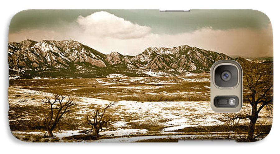 Landscape Galaxy S7 Case featuring the photograph Flatironsview From Superior by Marilyn Hunt