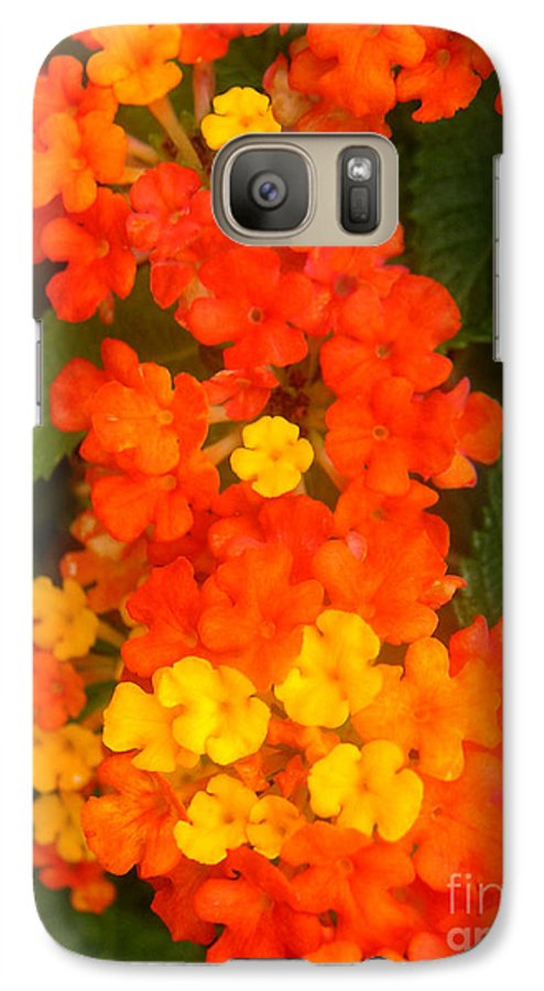 Nature Galaxy S7 Case featuring the photograph Volcanic Display by Lucyna A M Green