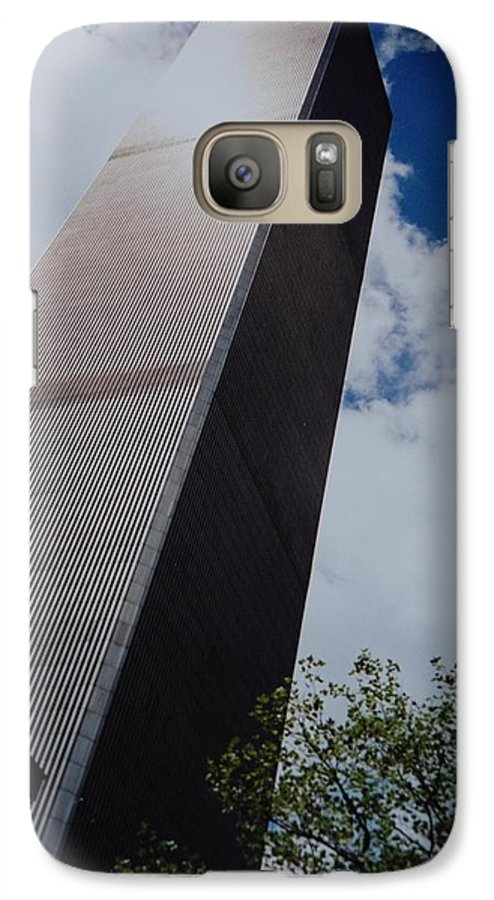 Wtc Galaxy S7 Case featuring the photograph W T C 1 And 2 by Rob Hans