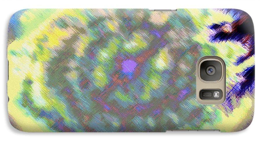 Rainbow Colors Digital Galaxy S7 Case featuring the photograph Waho Ka Manawa by Kenneth Grzesik