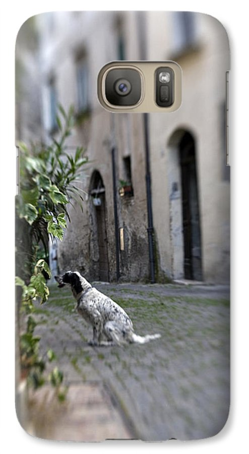 Dog Galaxy S7 Case featuring the photograph Waiting by Marilyn Hunt