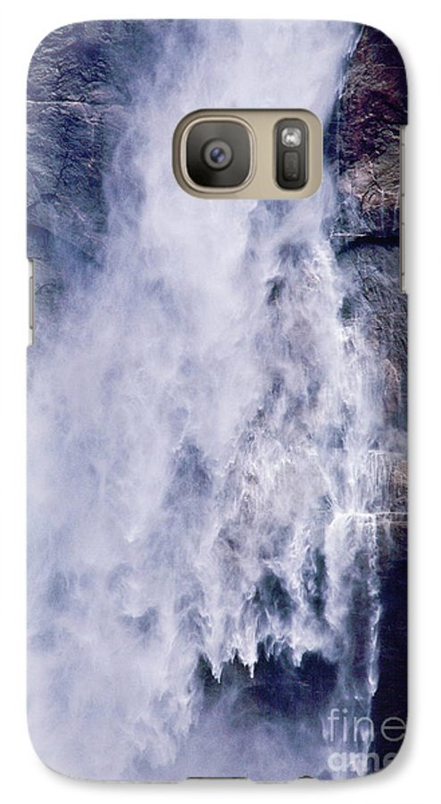 Waterfall Galaxy S7 Case featuring the photograph Water Drops by Kathy McClure