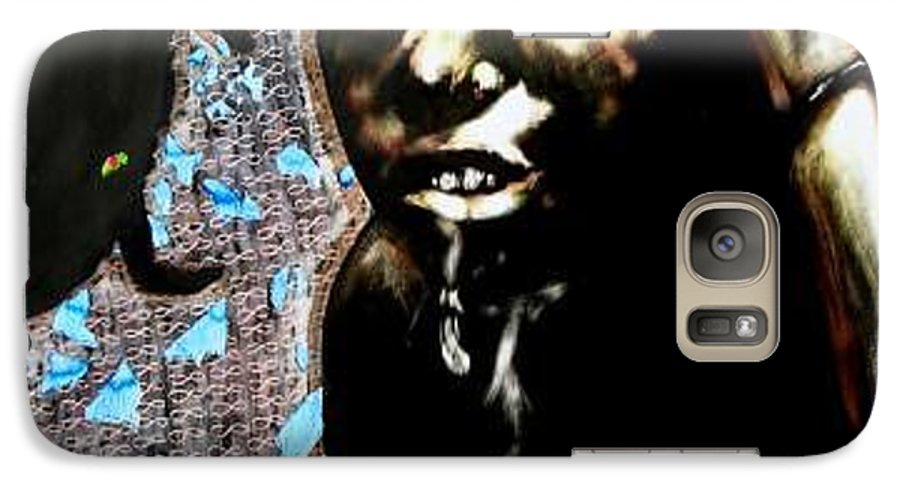 Social Commentary Galaxy S7 Case featuring the mixed media Water Is Life by Chester Elmore