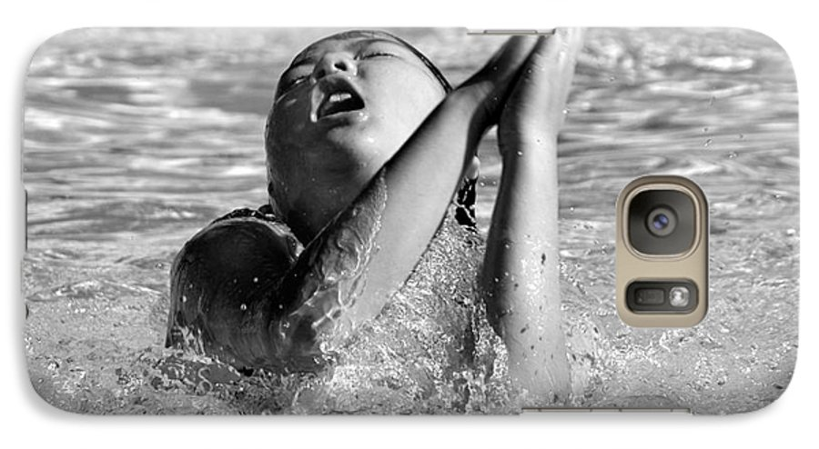People Galaxy S7 Case featuring the photograph Water Prayer 2009 by Michael Ziegler