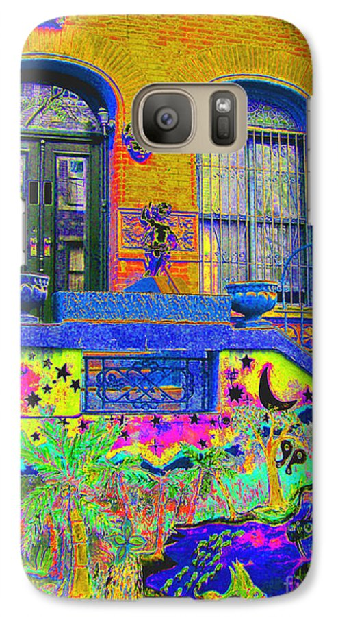 Harlem Galaxy S7 Case featuring the photograph Wax Museum Harlem Ny by Steven Huszar