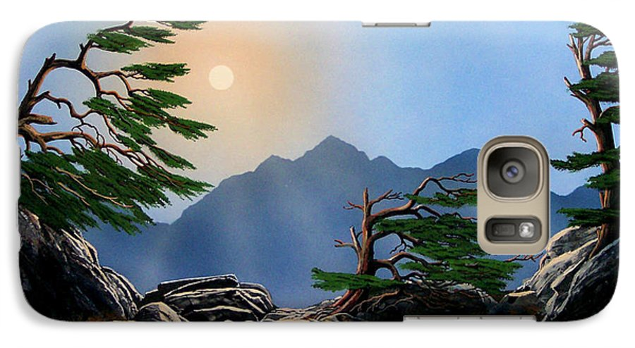 Weathered Warriors Galaxy S7 Case featuring the painting Weathered Warriors by Frank Wilson