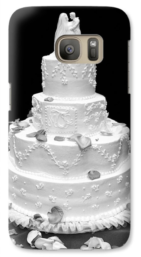 Wedding Galaxy S7 Case featuring the photograph Wedding Cake by Marilyn Hunt