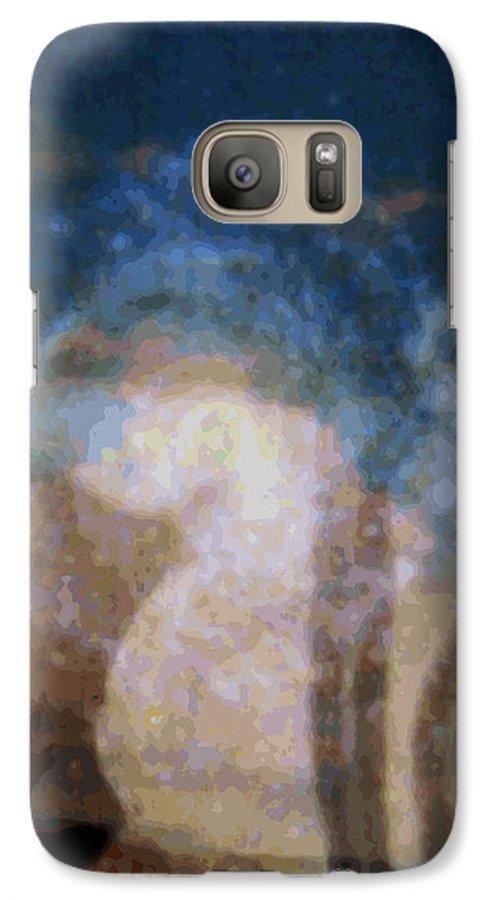 Rainbow Colors Digital Galaxy S7 Case featuring the photograph Wehewehe Moeuhane by Kenneth Grzesik