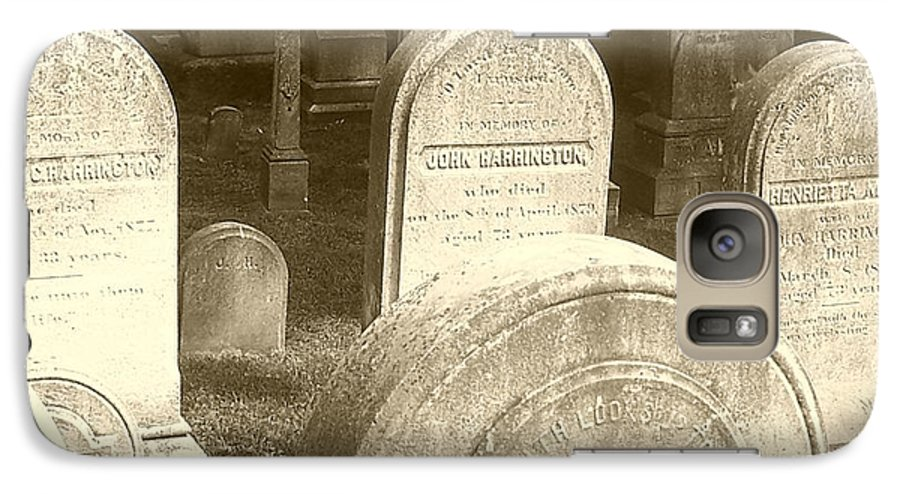 Cemetery Galaxy S7 Case featuring the photograph Welcome by Debbi Granruth