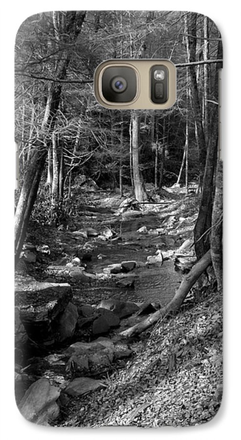 Nature Galaxy S7 Case featuring the photograph Wesser Creek Trail by Kathy Schumann