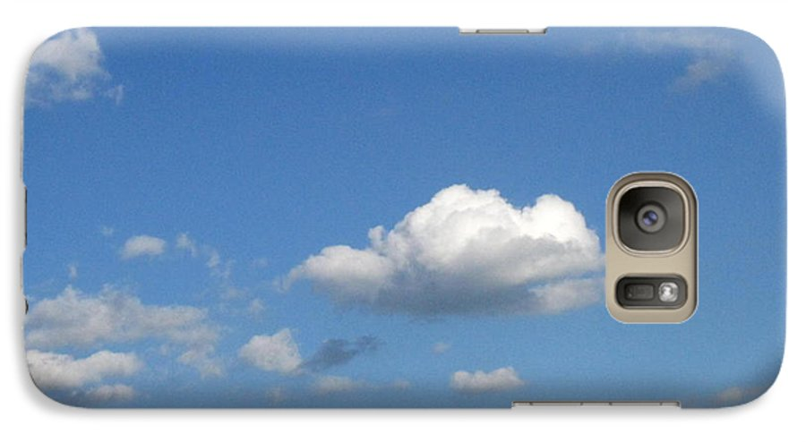 Clouds Galaxy S7 Case featuring the photograph Wide Open by Rhonda Barrett