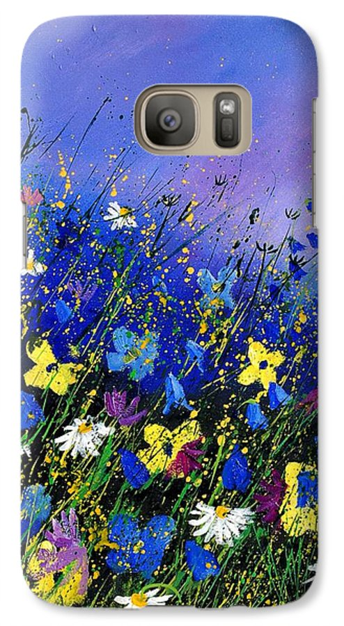 Flowers Galaxy S7 Case featuring the painting Wild Flowers 560908 by Pol Ledent