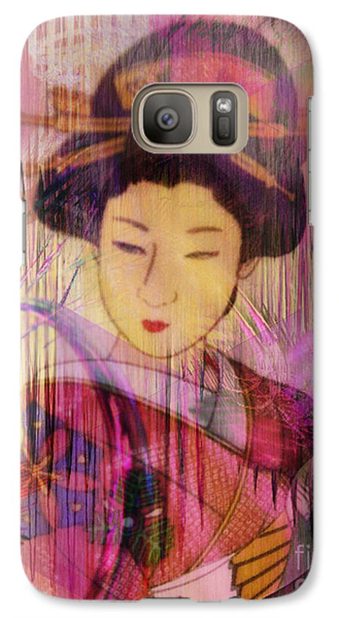 Willow World Galaxy S7 Case featuring the digital art Willow World by John Beck