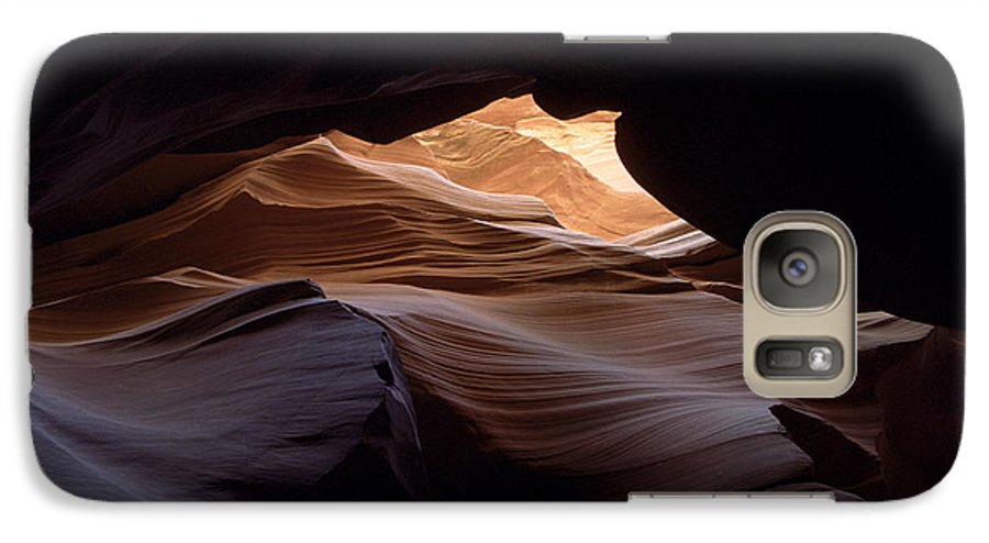 Antelope Canyon Galaxy S7 Case featuring the photograph Wind And Water by Kathy McClure