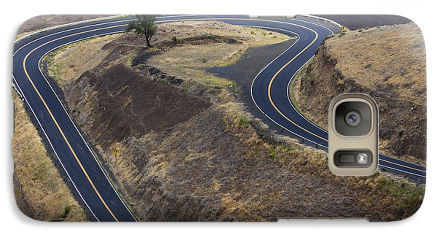 Road Galaxy S7 Case featuring the photograph Winding Road by Idaho Scenic Images Linda Lantzy