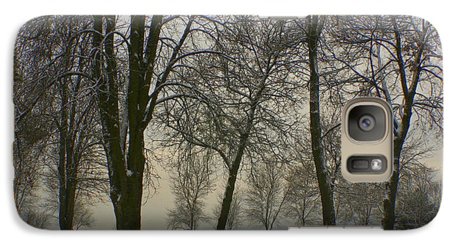 Park Galaxy S7 Case featuring the photograph Winter Wonderland by Idaho Scenic Images Linda Lantzy