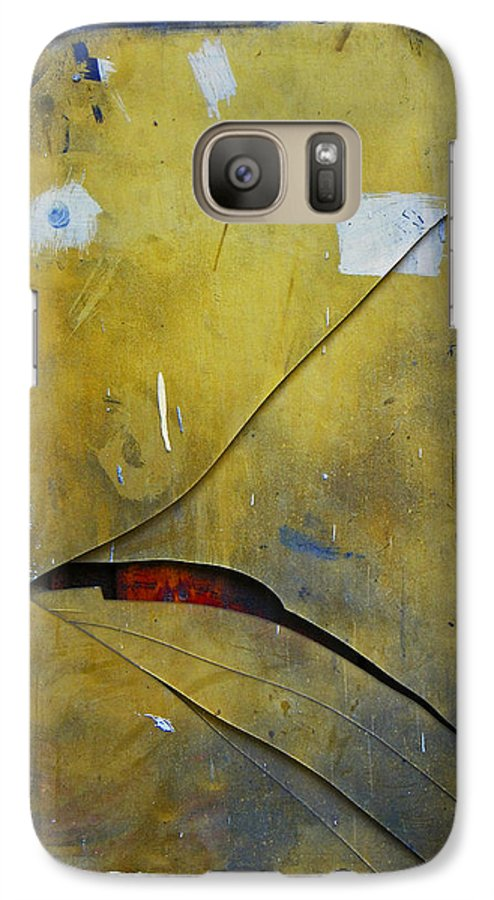 Abstract Galaxy S7 Case featuring the photograph Xalapa Miro by Skip Hunt