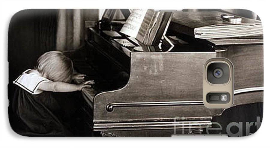 Piano Galaxy S7 Case featuring the photograph Young Beethoven by Michael Ziegler