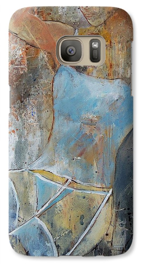 Nude Galaxy S7 Case featuring the painting Young Girl 451108 by Pol Ledent
