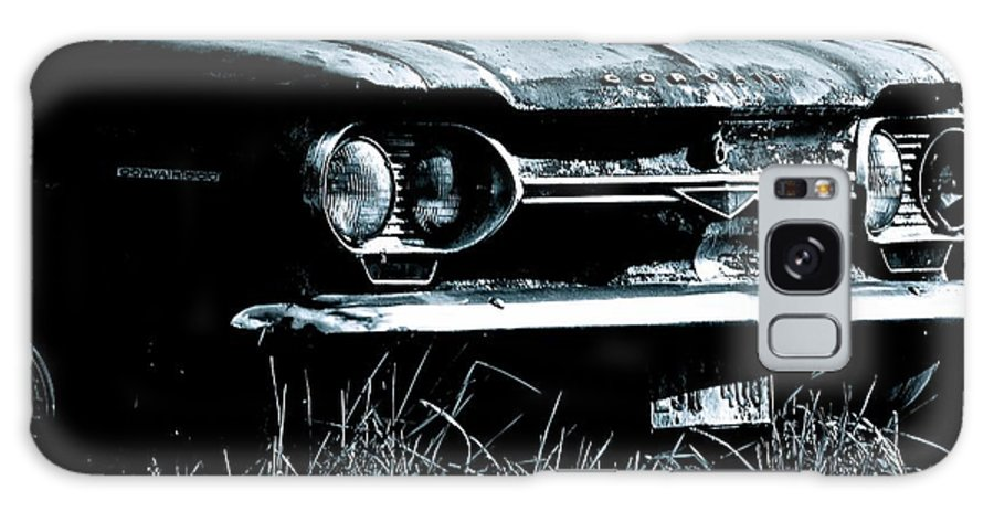 Antique Car Photos Galaxy S8 Case featuring the photograph 1964 Corvair 500 by Lisa Telquist