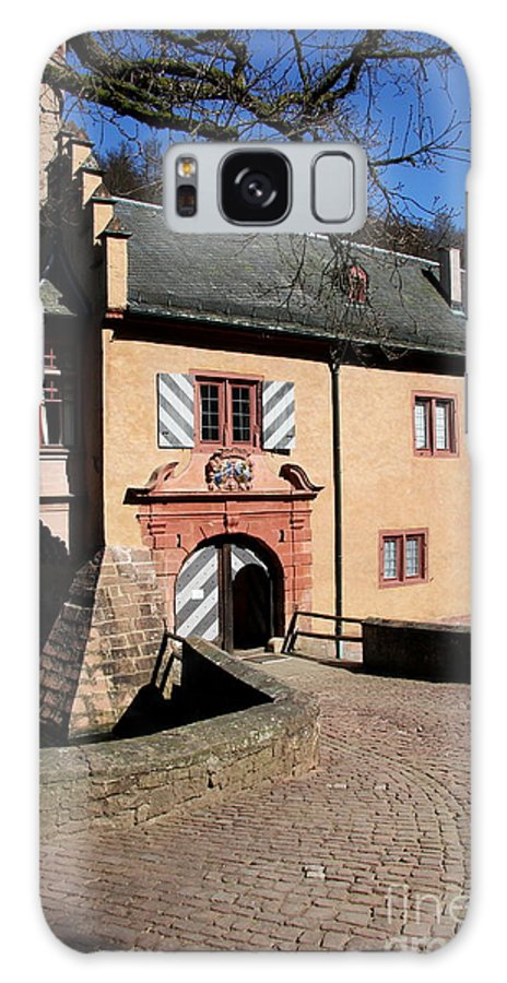 Castle Galaxy S8 Case featuring the photograph Castle Entrance by Christiane Schulze Art And Photography