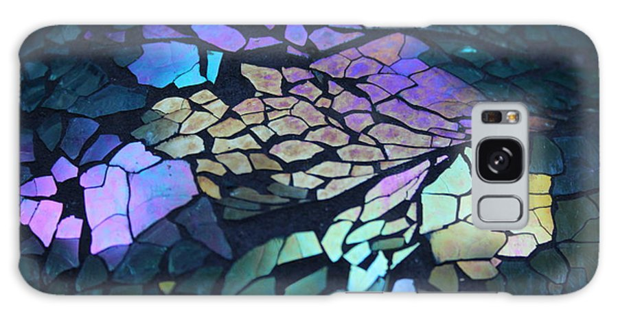 Stained Glass Galaxy S8 Case featuring the photograph Cut Glass Mosaic by Kathy DesJardins