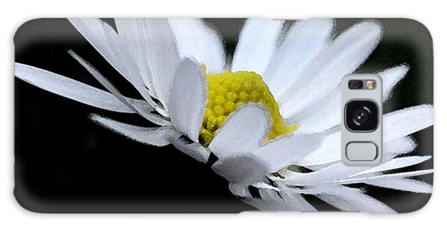 Daisy Galaxy S8 Case featuring the digital art Daisy 4 by Carol Lynch