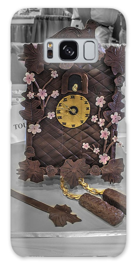 Clock Cake Galaxy S8 Case featuring the photograph Grand National Wedding Cake Competition 516 by John Straton