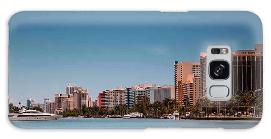 Miami Beach Galaxy S8 Case featuring the photograph Indian Creek Canal Millionaires Row by Rene Triay Photography