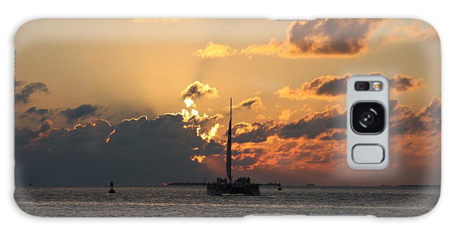 Sunset Galaxy S8 Case featuring the photograph Marelous Key West Sunset by Christiane Schulze Art And Photography