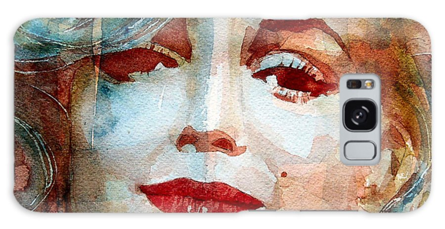 Marilyn Monroe Galaxy Case featuring the painting Marilyn  by Paul Lovering