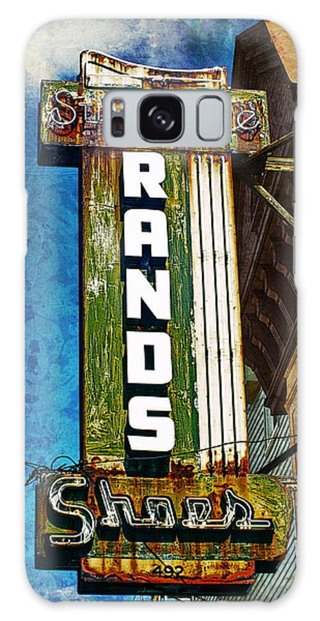 Signs Galaxy S8 Case featuring the photograph Rands by Wayne Gill