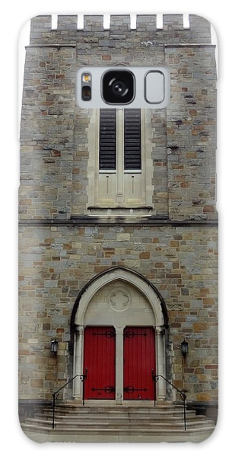 Episcopal Church Galaxy S8 Case featuring the photograph St Andrews Episcopal Church by Christopher Kerby