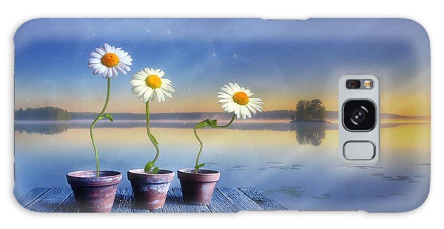 Art Galaxy S8 Case featuring the photograph Summer Morning Magic by Veikko Suikkanen