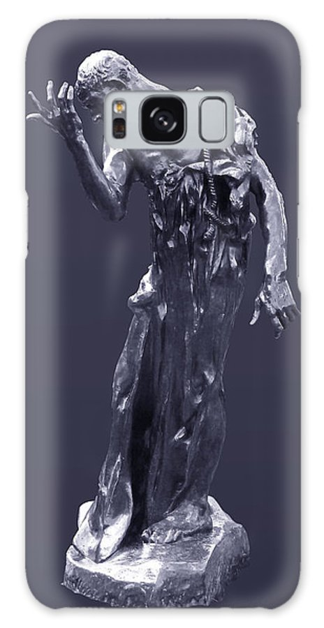 1889 Galaxy S8 Case featuring the photograph The Sculpture Of Auguste Rodin by Xueling Zou