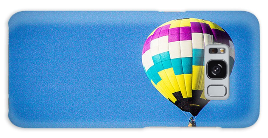 Hot Air Balloon Galaxy S8 Case featuring the photograph Up And Away by Shari Brase-Smith