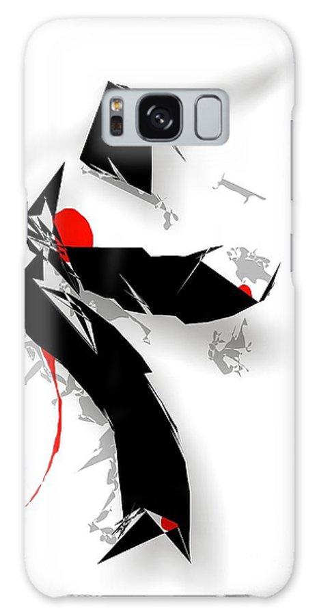 Graphics Galaxy S8 Case featuring the digital art 003-13 by Marek Lutek