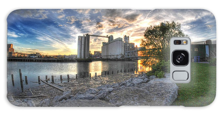General Mills Galaxy S8 Case featuring the photograph 003 General Mills At Sunset by Michael Frank Jr